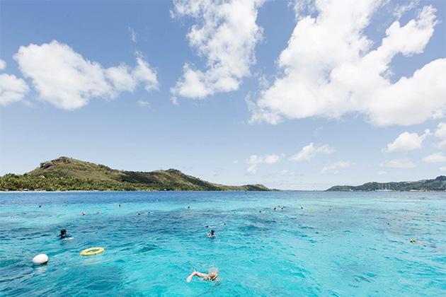 Windstar shore excursion in Bora Bora