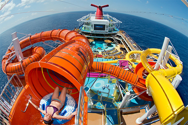 Best Cruise Ship Water Parks Cruise Critic - Cruise ship slide