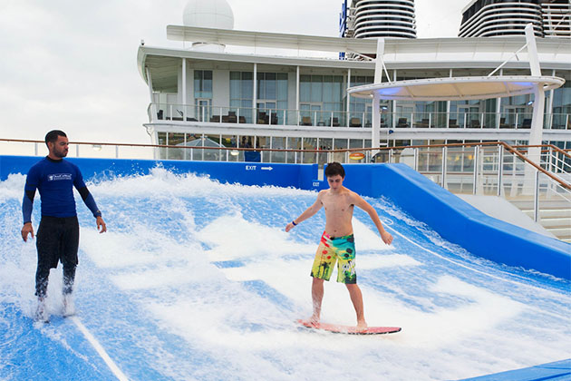 FlowRider on Allure of the Seas