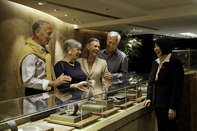Jewelry Shop onboard Azamara Ship