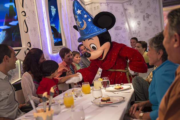 Character Breakfast on Disney Cruise Line