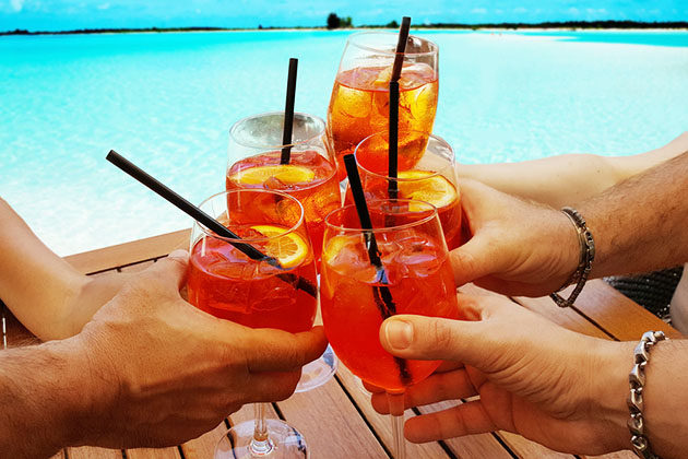 Caribbean Cocktails Checklist Take a Drink Tour of the Islands – Sample Beach Checklist