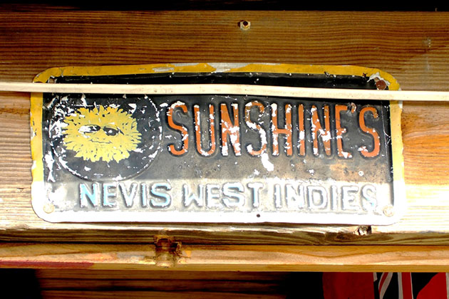 Sunshines Beach Bar and Grill, home of the famous Killer Bee cocktail