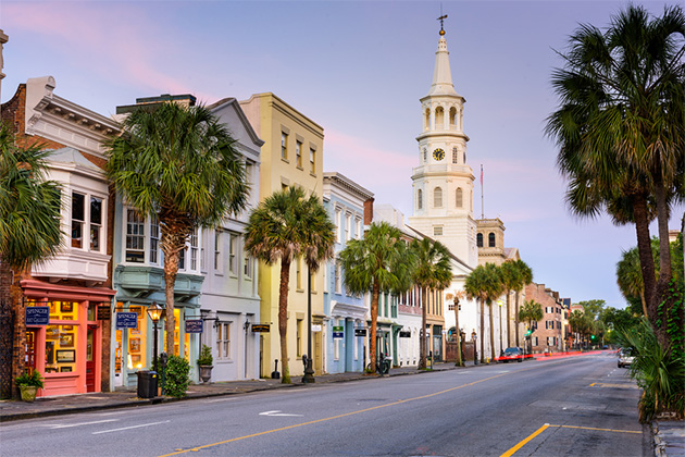 The French Quarter in Charleston