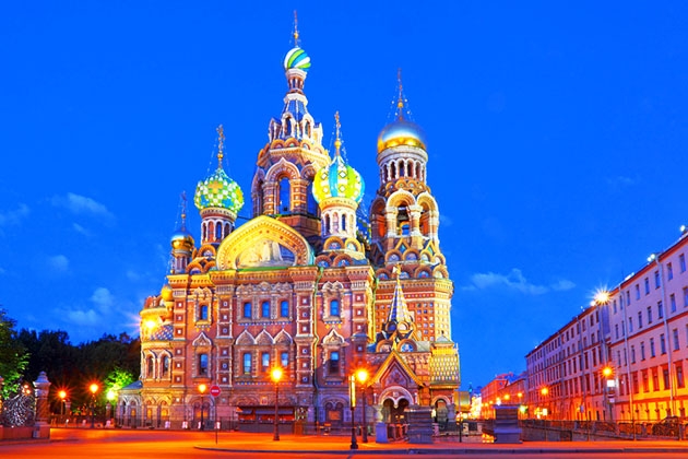 Cathedral Church of the Savior on Blood, St. Petersburg, Russia
