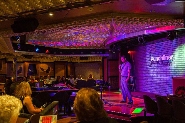 Punchliner Comedy Club On Carnival Cruise Line Cruise Critic - Punchliner comedy club