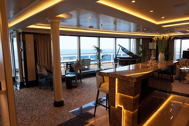 Regent Suite on Regent's Seven Seas Explorer