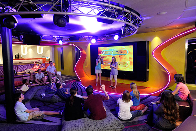 Vibe Teen Club on Disney Cruise Line