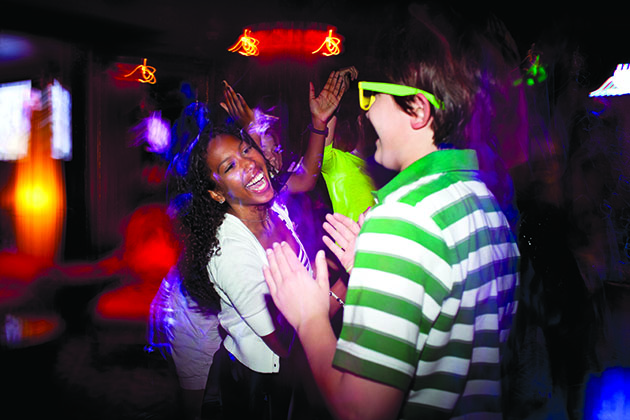 Teen dance party on Norwegian Cruise Line