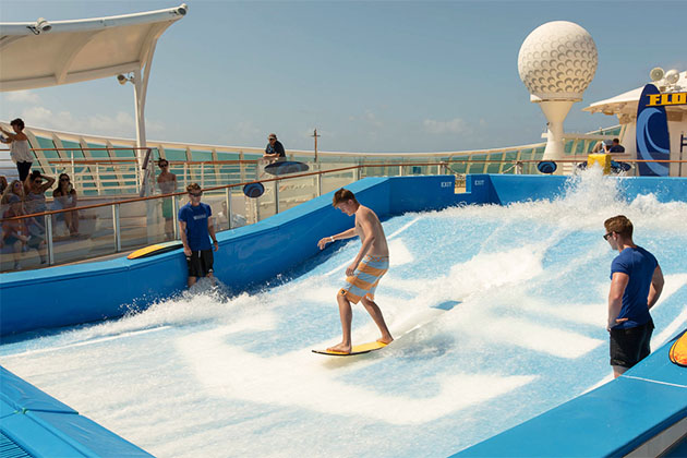FlowRider on Voyager of the Seas