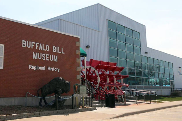 The Buffalo Bill Museum exterior