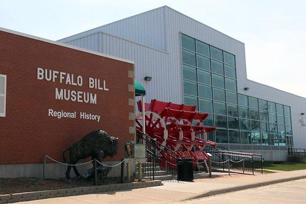 The Buffalo Bill Museum exterior