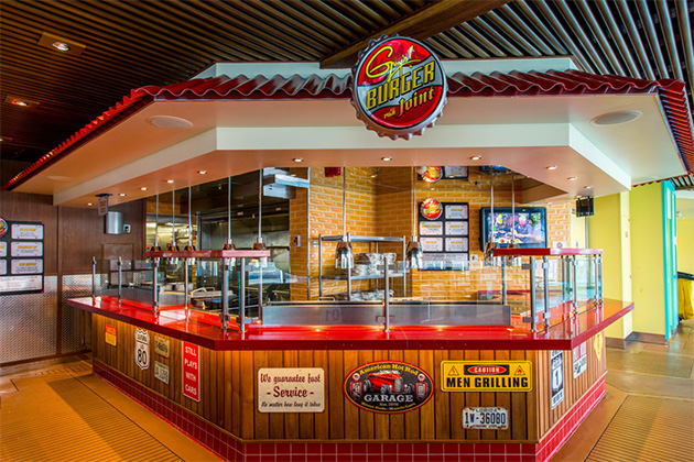 Guy's Burger Joint on Carnival Vista