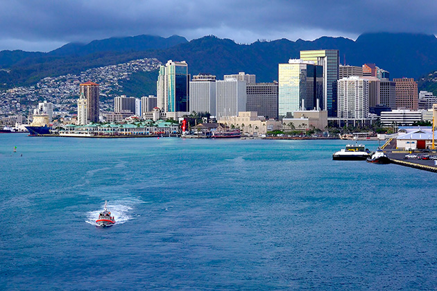 honolulu cruise terminal map Embarkation In Honolulu Cruise Port honolulu cruise terminal map