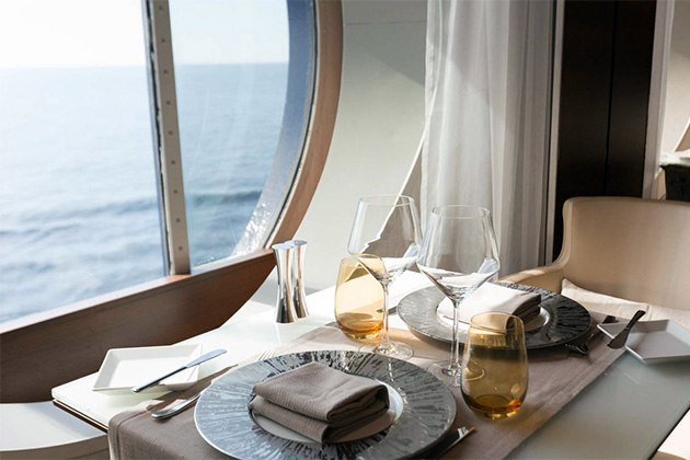 Celebrity cruises dining included