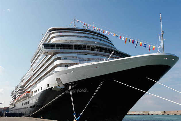 Ship Exterior on Koningsdam