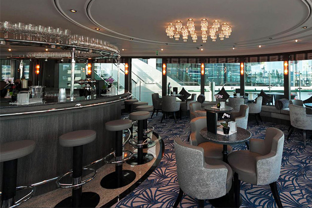 The Panorama Lounge and Bar on ms Grace
