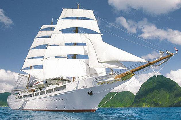 Abercrombie & Kent sailing cruise