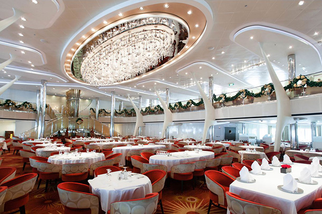 The Grand Cuvee Dining Room on Celebrity Silhouette