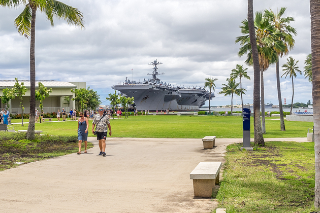 Pearl Harbor Visitor Centre and the USS Arizona Memorial