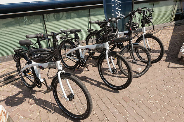 Complimentary Bicycles on Avalon Expression
