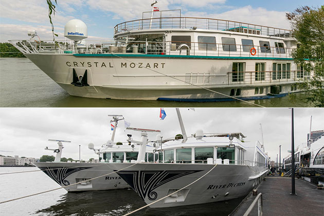 Crystal River Cruises vs. Uniworld Boutique River Cruise Collection