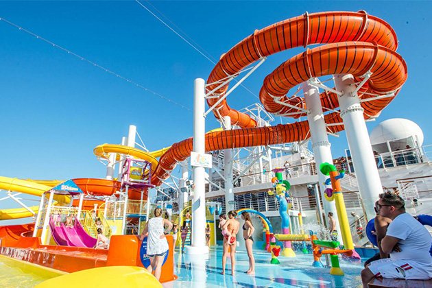Carnival WaterWorks on Carnival Vista