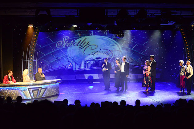 Strictly Dancing On P O S Oriana Cruise