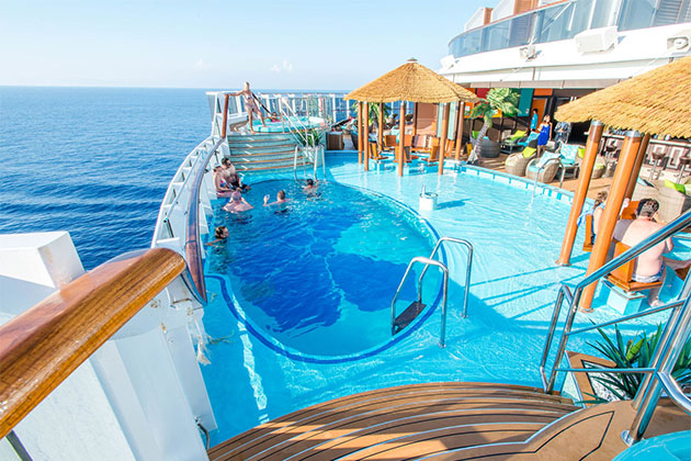 The Havana Pool on Carnival Vista