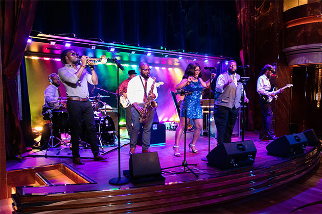 B.B. King's Blues Club on Koningsdam