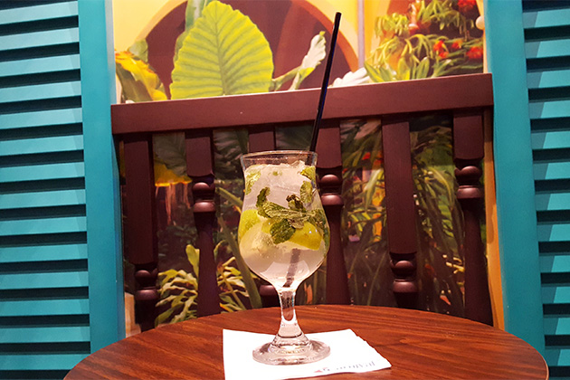 Havana Bar mojito on Carnival Vista