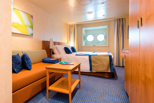 The Porthole Cabin on Carnival Vista