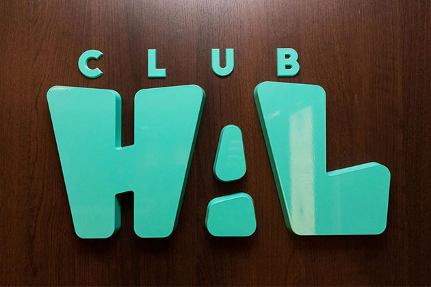 Club HAL sign