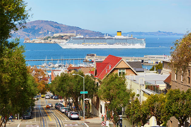 Embarkation in San Francisco: Cruise Terminal Parking