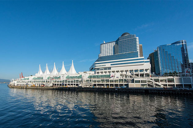The Canada Place Cruise Terminal