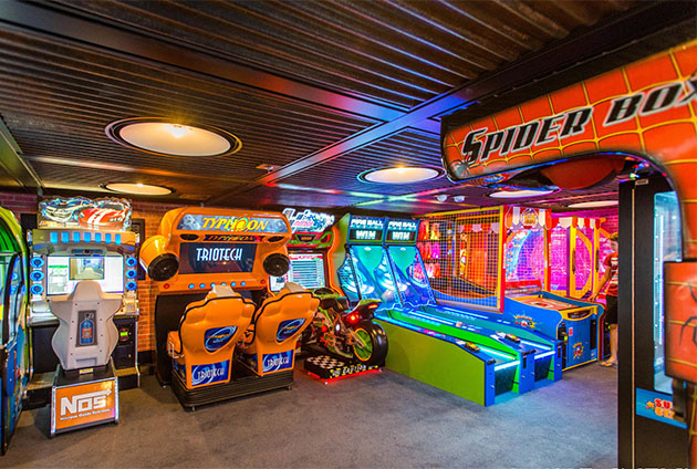 Cruise Ship Video Games And Arcades Cruise Critic