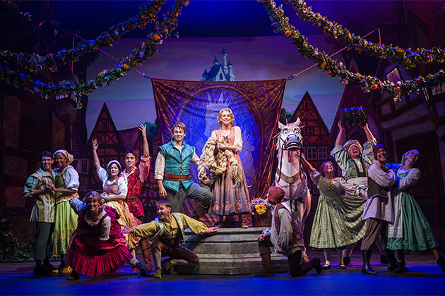 'Tangled, The Musical' cast