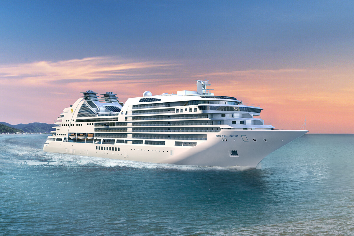 Artist rendering of Seabourn Encore