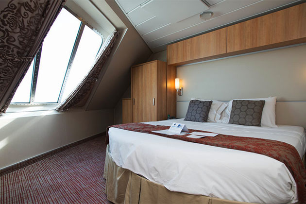 The Family Oceanview Balcony Cabin on Celebrity Eclipse