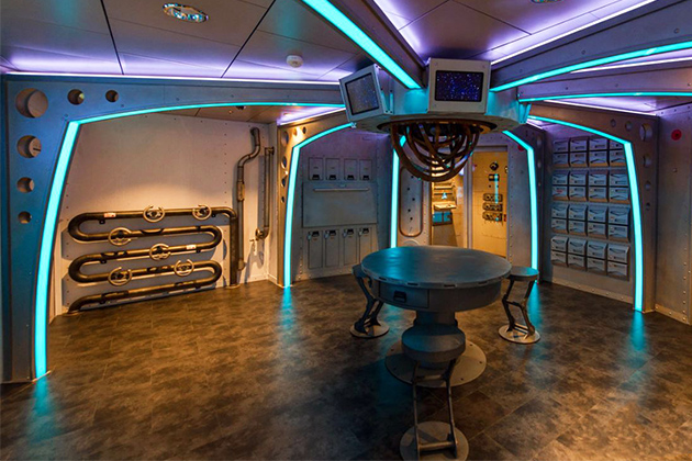 Escape the Rubicon room on Harmony of the Seas
