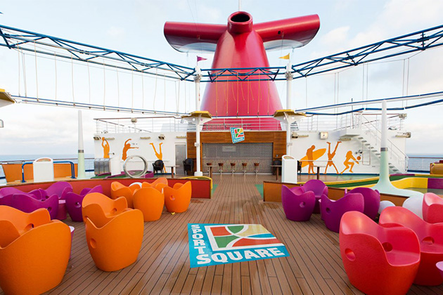 SportSquare on Carnival Magic