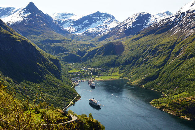 Geirainger Fjord taken by Cruise Critic member ballyrobert on a Norwegian Fjords cruise onboard CMV's Magellan