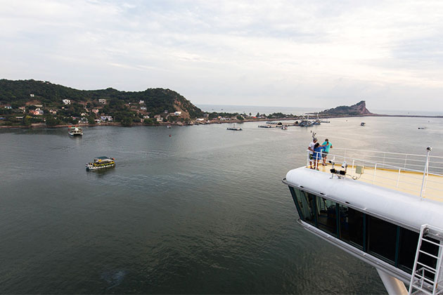 Crown Princess in Mazatlan