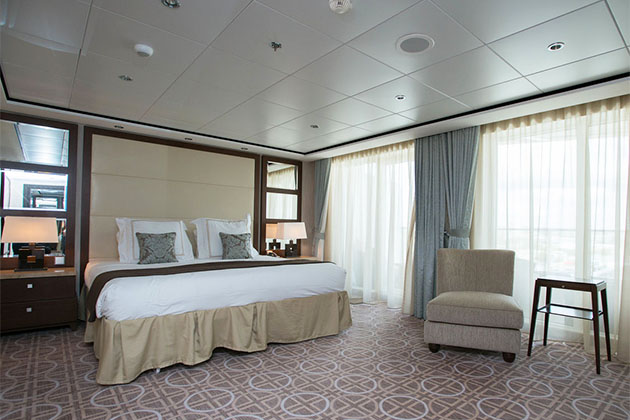 The Penthouse Suite on Celebrity Eclipse