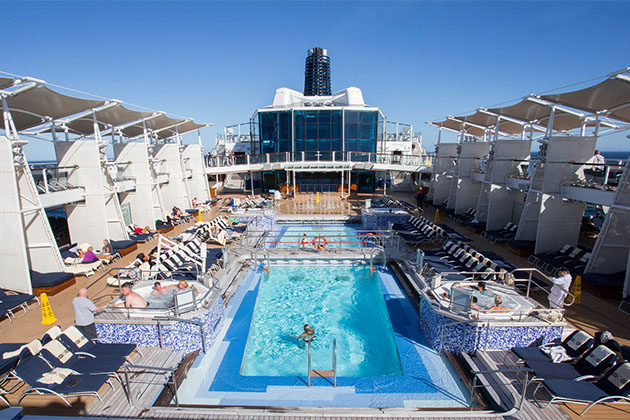 The Pool on Celebrity Solstice