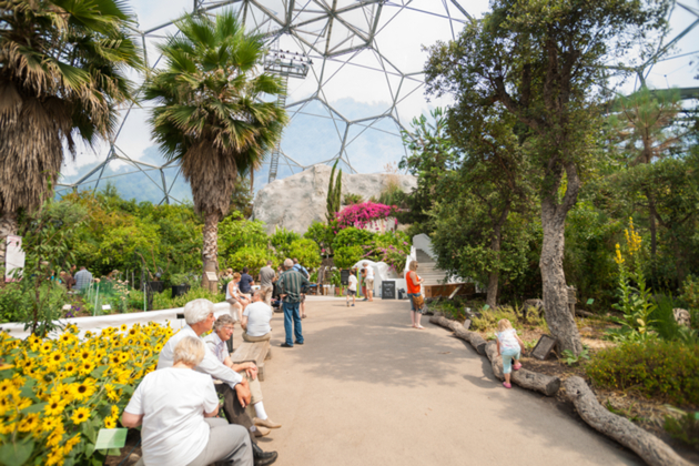 The Eden Project in Cornwall, England