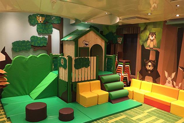 Tree House space on Grand Princess