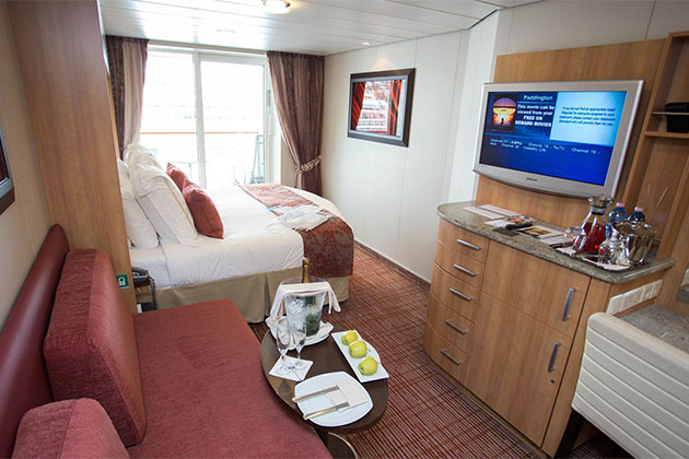 AquaClass cabin on Celebrity Solstice