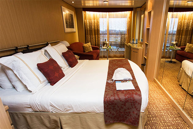 The AquaClass Cabin on Celebrity Infinity
