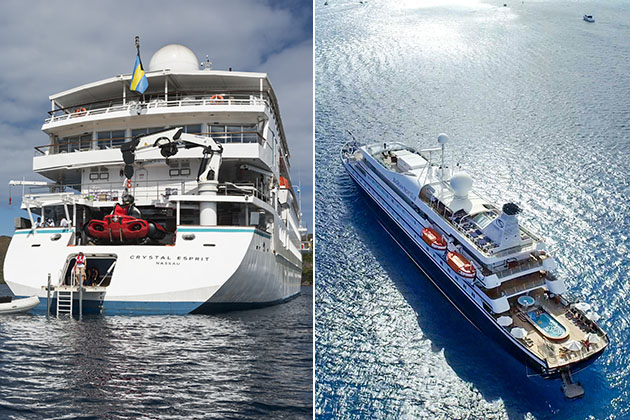 Crystal Esprit Vs. SeaDream Yacht Club